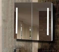 mirror cabinet with light bathroom mirror defogger