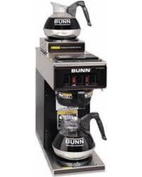 BUNN VP17 2BLK Coffee Brewer2 WarmersBlack G5200925