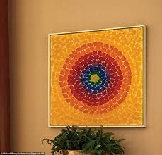 A Work From African American Expressionist Painter Alma Thomas That Was Painted In 1966 Entitled