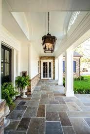 Floor Porch Flooring Options Outdoor Ideas Stone For Plan