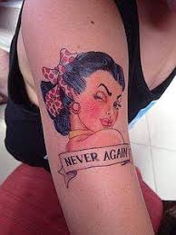 Pin Up Temporary Tattoos Evokes A Different Time Of Glamour And Sexy Movie Stars Our Will Make Your Feel So Wonderful All