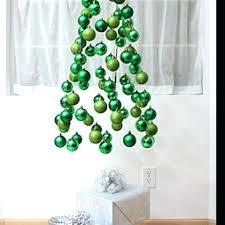 Wall Christmas Tree Pre Lit Hanging Trees Half