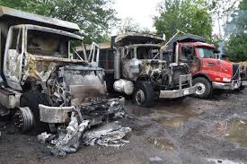 100 Dump Trucks For Sale In Oklahoma Damage Estimated At 12 Million After Dump Trucks Catch Fire At