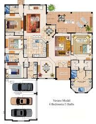 3 Bedroom Ranch Floor Plans Colors 216 Best Floor Plans Images On Pinterest Architecture Home
