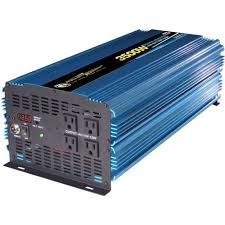 Power Bright 12-Volt DC To AC 3500-Watt Power Inverter-PW3500-12 ... Power Invters Dc To Ac Solar Panels Aims Xantrex Xpower 1000w Dual Gfci 2plug 12v Invter For Car Pure Sine Wave To 240v Convter 2018 Xuyuan 2000w 220v High Aims 12 Volt 5000 Watts Westrock Battery Ltd Shop At Lowescom Redarc 3000w Electronics Portable Your Or Truck Invters Bring Truckers The Comforts Of Home Engizer 120w Cup Walmart Canada