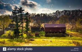 Barn On A Farm In Rural York County, Pennsylvania Stock Photo ... The Barn On Bridge Partyspace Why Apples Futuristic 5 Billion Campus Has A Random Centuryold Barn The Farm I Grew Up In Fingerlakes Region Of New Crane Estate Best 25 Converted Ideas Pinterest Cabin Barns And Snow Covered Road Red Rural Area York Winter View Snow Field At Sunset Rocky Fork Creek Desnation Steakhouse Gahanna Oh Birch Trees Ptakan Round Snowy Winters Day