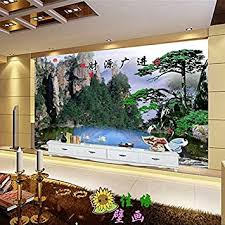 tantoto 3d wallpaper ein großes wandbild querformat tv