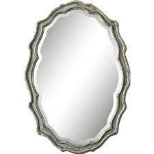 Tilting Bathroom Mirror Uk by Wall Mirrors Oval Wall Mirrors Decorative Oval Cherry Wood Wall