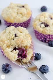 heidelbeer joghurt muffins mit zitronenstreusel
