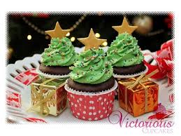 Have Yourself A Merry Little Christmas Cupcake