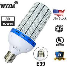 80watt led corn light bulb e39 large mogul base 600w mh