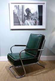 MICHAEL THOMAS : K.E.M. Weber For Lloyd Chrome; Arm Chair