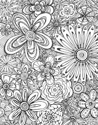 Free Coloring Page Download For Adults Flower MuralFlower DesignsColoring