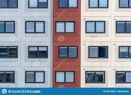 100 Freight Container Homes For Students And Asylum Seekers Stock Image Image