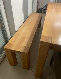 esszimmergarnitur tisch bank 4 stühle