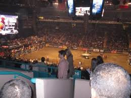 Madison Square Garden section 208 home of New York Rangers New
