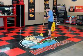 Racedeck Flooring Vs Epoxy by Racedeck Garage Floors Racedeck Garage Flooring Racedeck Tiles