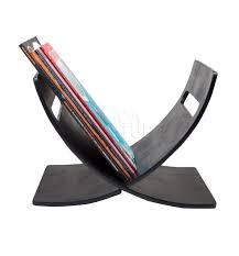 black wood magazine rack buy designer newspaper holders online