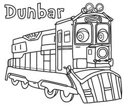 Coloring Pages Coloring Pages Simple Train Page At Getcolorings