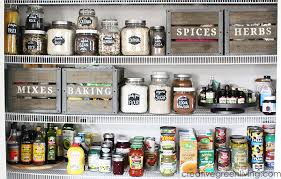 My Farmhouse Style Pantry Organization Makeover Creative Green