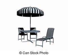 A Pergola Garden Furniture Set Created With