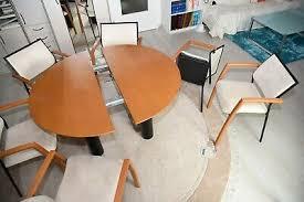 designer esszimmer tonon 6 stühle und einen tisch eur