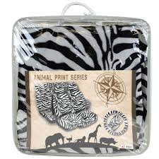 Amazoncom 13 Pc Safari Zebra White Print Seat Cover Set 2 Lowback