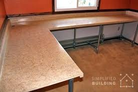 desk reclaimed wood l shaped desk wb designs free woodworking