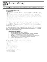High School Student Resume Summary Examples Objective Resumes Objectives Samples Fresh Objectiv