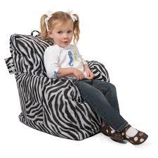 big joe 98 in bean bag lounger zebra hayneedle