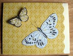 Butterflies In Flight Note Cards