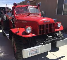 100 Fire Trucks For Sale On Ebay A Dodge Power Wagon Truck Or Two Revivaler