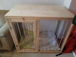 hundebox hundekäfig aus holz groß und schön
