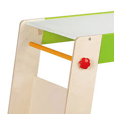 Hape Kitchen Set Canada by Hape Kids Wooden Play Station U0026 Art Activity Easel Table Set With