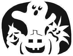 Ariel Flounder Pumpkin Stencil by Halloween Pumpkin Stencils To Print Pumpkin Carving Template