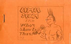 Little Sport In Whos Show Is This C1935 Tijuana Bible Comic Books
