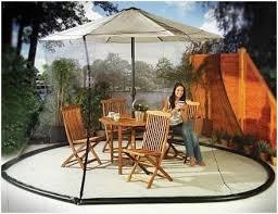 Offset Patio Umbrella W Mosquito Netting by Mosquito Netting For Patio Umbrella