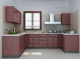 Appliances And Drawer Excellent Small Indian Kitchen Design In U Shape Shaped With