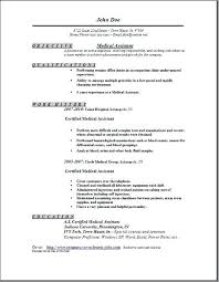 Front Office Job Resume by Sample Resume Medical Assistant Medical Assistant Resume Samples