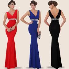 2016 elegant sequin long prom evening dresses mermaid long