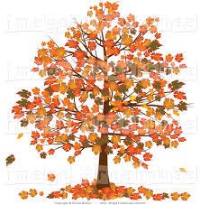 Autumn Tree Clip Art 17