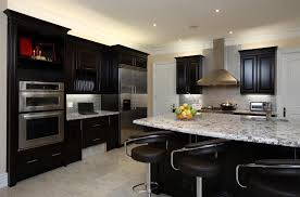 kitchen cabinets with light wood floors home design