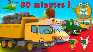 Dylan The Dump Truck And More Trucks For Kids | Gecko's Garage - YouTube
