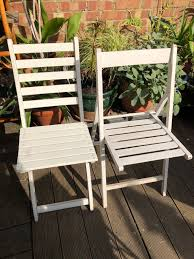 2 White Folding Garden Chairs In N4 Haringey For £16.00 For ... Set Of Four Stacking Garden Chairs And Matching White Folding Table In Cambridge Cambridgeshire Gumtree Modern Wooden Folding Director Or Garden Chair On A Background 7 Position Adjustable Back Outdoor Fniture Foldable Rattan Chairs With Foot Rest Buy White Canvas Rows Lawn Botanic Stock Close Up Slatted Wooden Chair Intertional Caravan Royal Fiji Acacia High Bluewhite Camping Wedding Rental Sky Party Rentals Vidaxl 2x Hdpe Balcony Seat 225