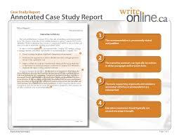 Case Study Sample Executive Summary