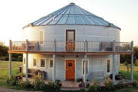 104 Homes Made Of Steel Tiny From Old Grain Silos