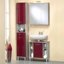 badezimmer 3 tlg asco in hochglanz rot alufarben jetzt