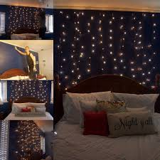 Icicle Lights In Bedroom by Curtain Lights White Bulbs Green Wire