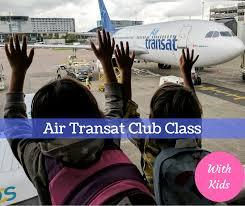 air transat lyon montreal air transat club class experiencetransat baby and