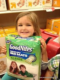 Goodnites Disposable Bed Mats by Help With Bedwetting With Goodnites Bed Mats